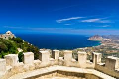 Gallery Trapani view from Erice